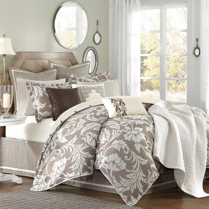 Hampton Hill Bedding Sets Bellville Khaki King Comforter
