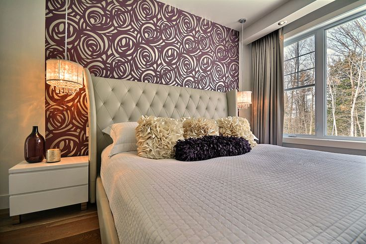 1000 id es propos de chambre aubergine sur pinterest couleur aubergine couleurs chambre. Black Bedroom Furniture Sets. Home Design Ideas