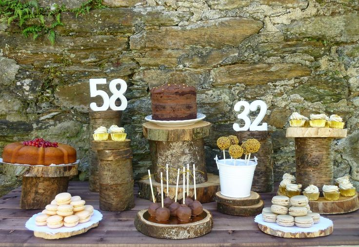 Mesa dulce campestre de cumplea os cocina para burros - Mesas cocina vintage ...