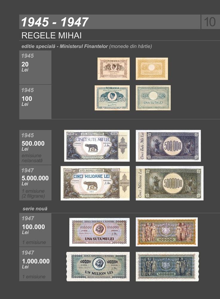Romanian banknotes 1945-1947