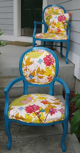 Gorgeous chairs.
