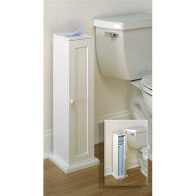 Zenith products 9153ww bath tissue cabinet organization for Zenith bathroom cabinets
