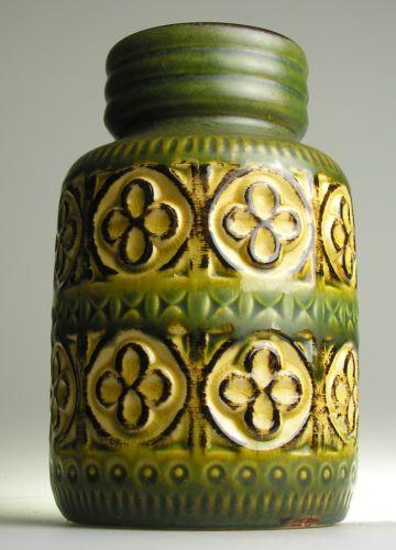 Scheurich West German Pottery Ceramic Modernist 20 th Mid Century Vintage Retro | eBay