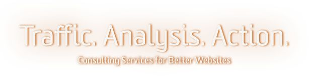 Traffic. Analysis. Action. Consulting Services for Better Websites.