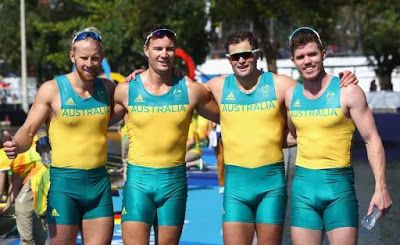 2016 Rio Olympics: Australian Male Rowing Team Are Attracting a Lot of Media Attention