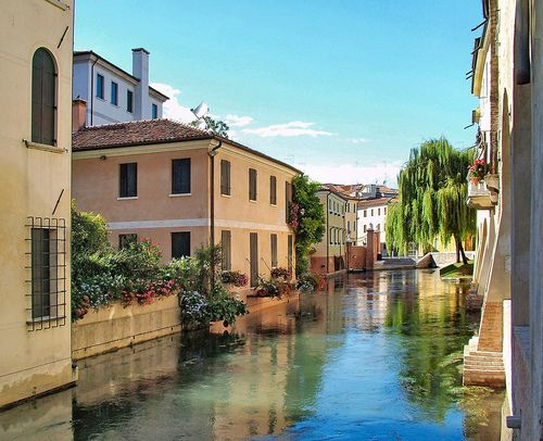 Treviso, Italy (by Gabriele Dalla Porta) Because I mean, why not go to a place that is pronounced just like your last name?