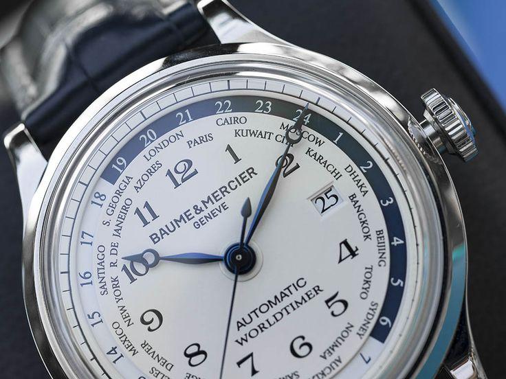 Baume & Mercier World Timer 10106