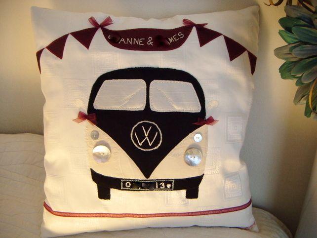 Wedding Personalised Keepsake Cushion £35.00