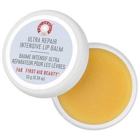 Hands down the best lip balm I've ever used! First balm to ever repair my flaky, peeling lips and I only use it before bed. Amazing! @firstaidbeauty @sephora