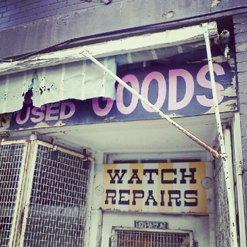 watch repairs, used goods #decay