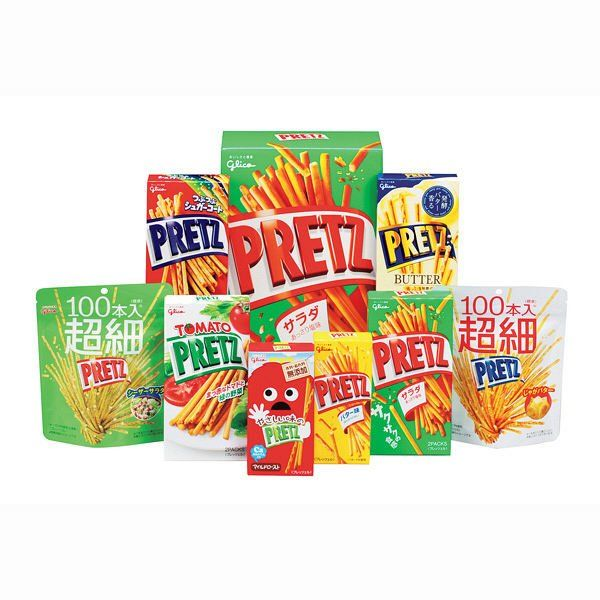Pretz+By+Glico+-+Assorted+Flavour+-+8+Box