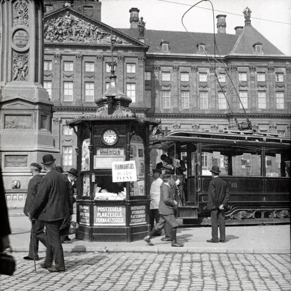 Dam Amsterdam 1905