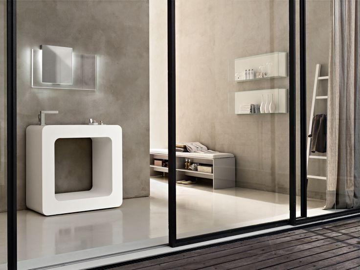 Attractive Bathroom Basin Design   Modern Italian Bathroom Design   Al Habib Panel  Doors Ideas