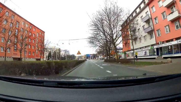 Driving Brno (Czech Republic) -  Vienna (Austria) - Brno