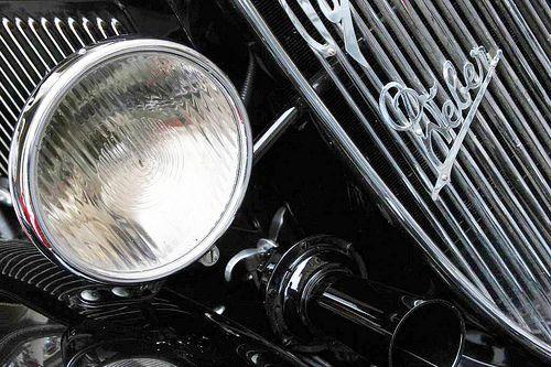 Automobile Fiat Balilla nera, particolare | Flickr – Condivisione di foto!