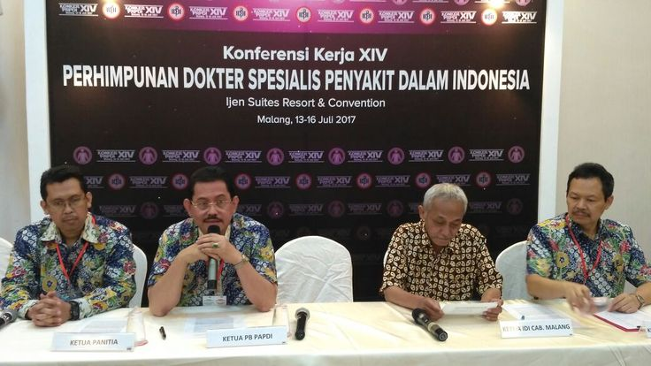 Dokter Spesialis Penyakit Dalam Mulai Disebar ke Pelosok Negeri https://malangtoday.net/wp-content/uploads/2017/07/Paparan-dari-Ketua-PB-PAPDI-Prof-Idrus-Alwi-ist.jpg MALANGTODAY.NET – Hadapi persaingan Masyarakat Ekonomi Asean (MEA), Perhimpunan Dokter Spesialis Penyakit Dalam Indonesia (PAPDI) kembali bersiap meningkatkan kapasitas dan kompetensi para dokter. Tak hanya meningkatkan jam terbang, juga dilakukan upaya meningkatkan penyebaran para dokter... https://malang