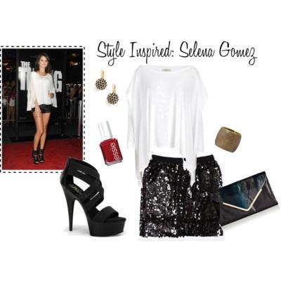Style Inspired: Selena Gomez