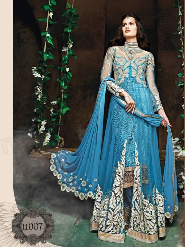 Latest unique style lehnga choli wedding dresses 2015 (2 ...