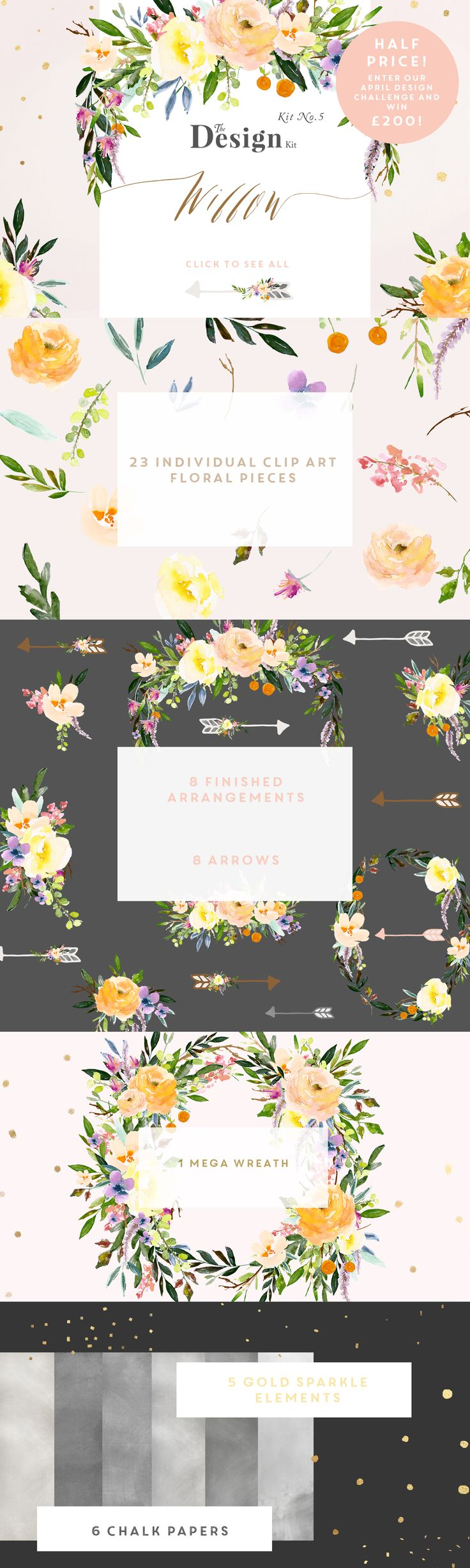 The Design Kit - Willow - 50% Off: The philosophy behind our Design Kits is to…