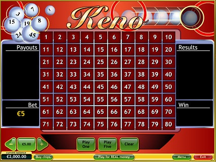 Introduction to Playing Real Money Keno Games Online