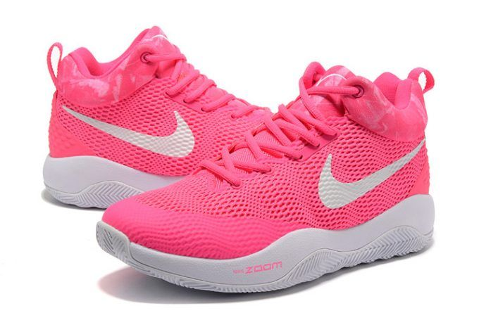 06f093fdc04354 Nike Hyperrev 2017 Pink White Basketball Shoes For Men in 2019 ...
