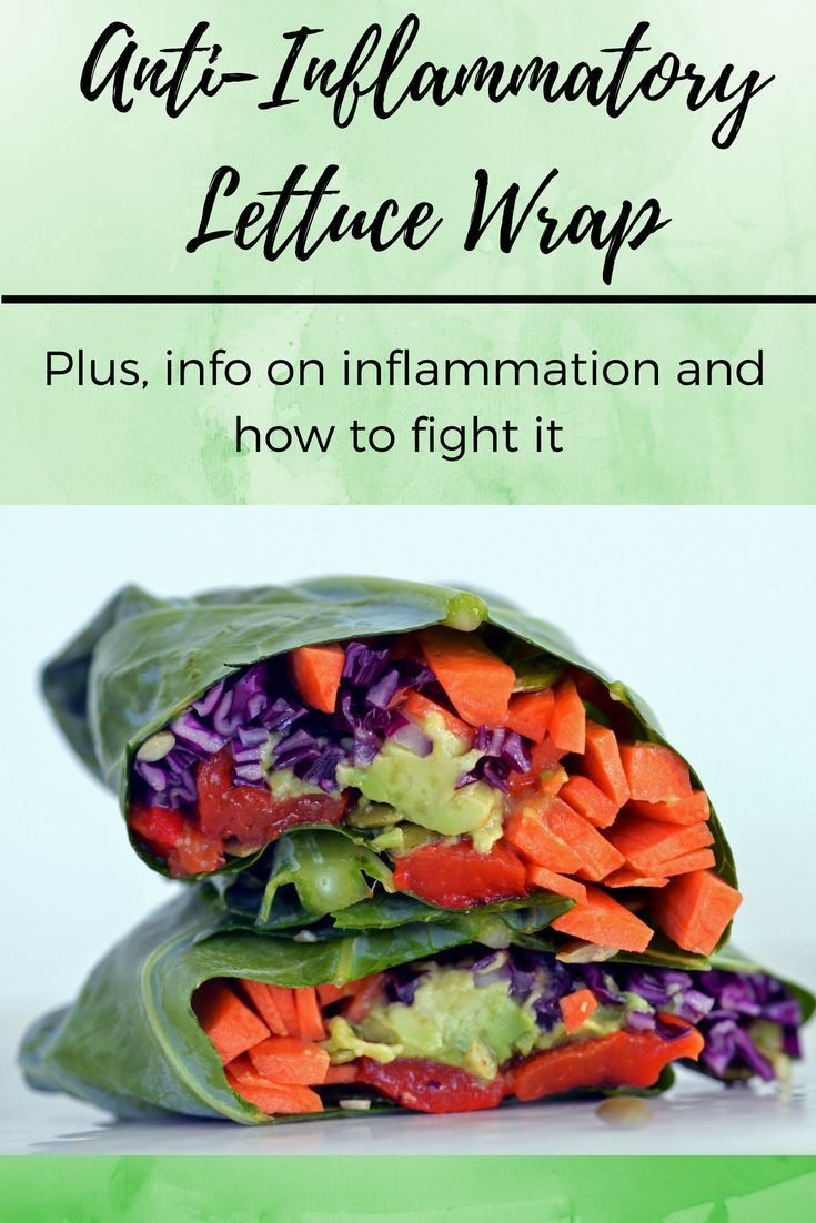 Inflammation Fighting Lettuce Wrap