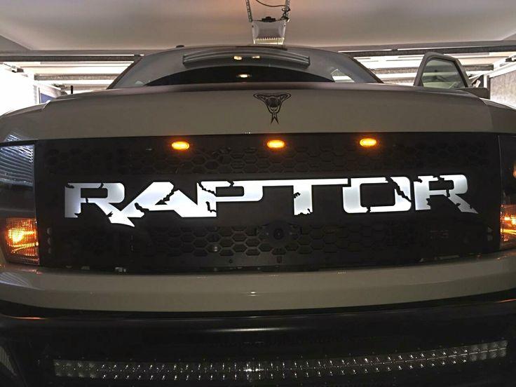 DB Customz 2010-2014 Ford Raptor LED Backlit Grille [09FRV214] - $1,299.00 : Ford Raptor Parts & Accessories, Shop Pure Raptor