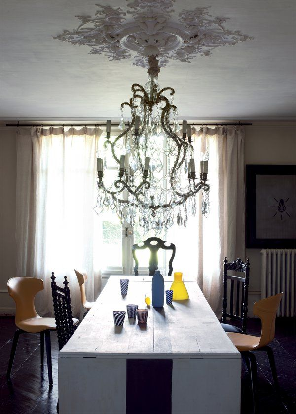Une salle manger baroque salle manger dining room - Salle a manger baroque ...