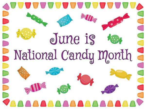 Few consumer products generate the level of excitement found in the candy aisle. Candy is a small part of our diets, but a big part of our lives. There is no better time to celebrate the unique role of candy in a happy, balanced lifestyle than National Candy Month. This June we celebrate the confectionery industry.