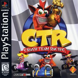 Crash Team Racing. Spent many hours on this.