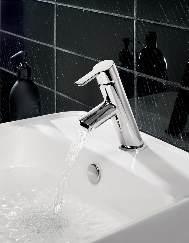 Slide Mini Bathroom Basin Tap from Crosswater http://www.crosswater.co.uk/product/crosswater-taps-and-mixers-mini-basin-mixers/slide-mini-basin-monobloc-sl114dnc/