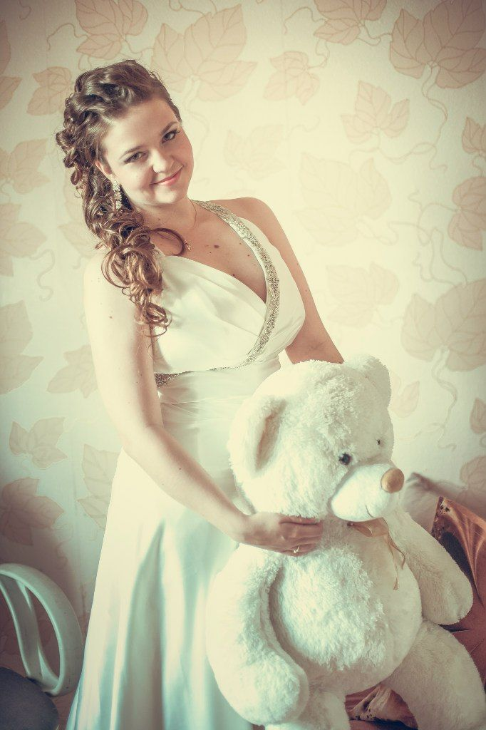 Прическа и макияж в полном порядке, прощай друг мой мишка, мне замуж пора. Стилист-визажист Субботина Ирина | +7 916 910 56 34 vk.com/stylistnadom