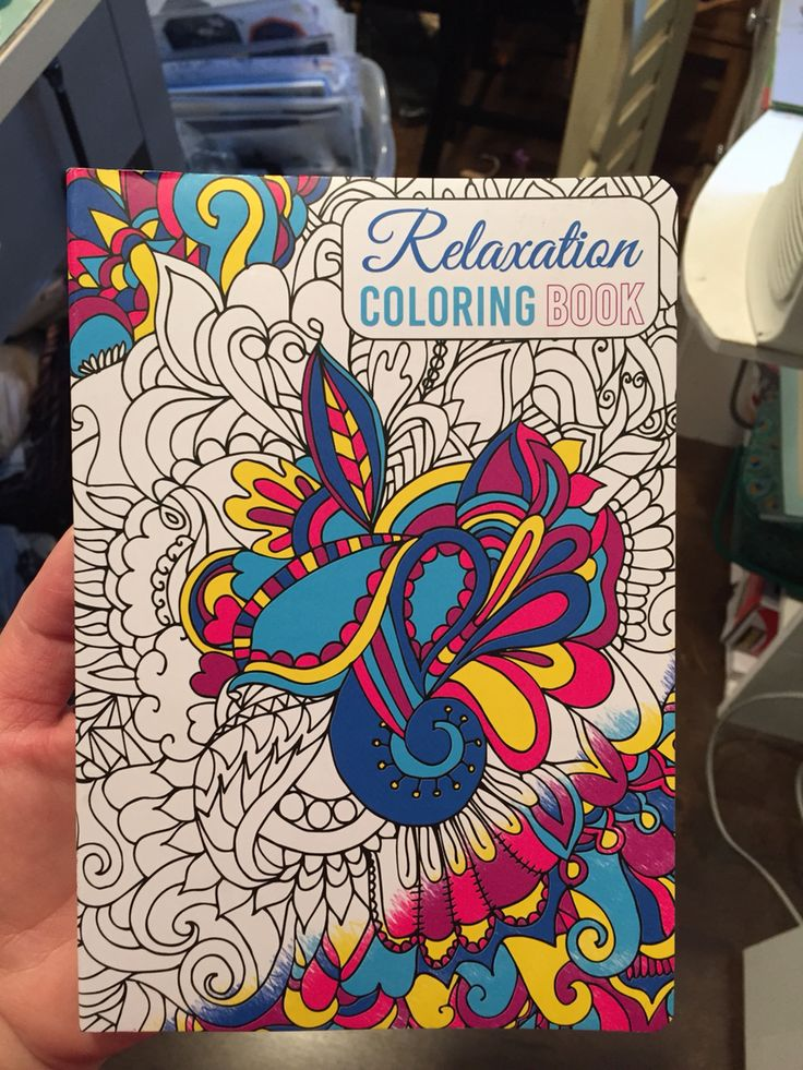 Adult Coloring Book But A Smaller Size At Barnes And Noble