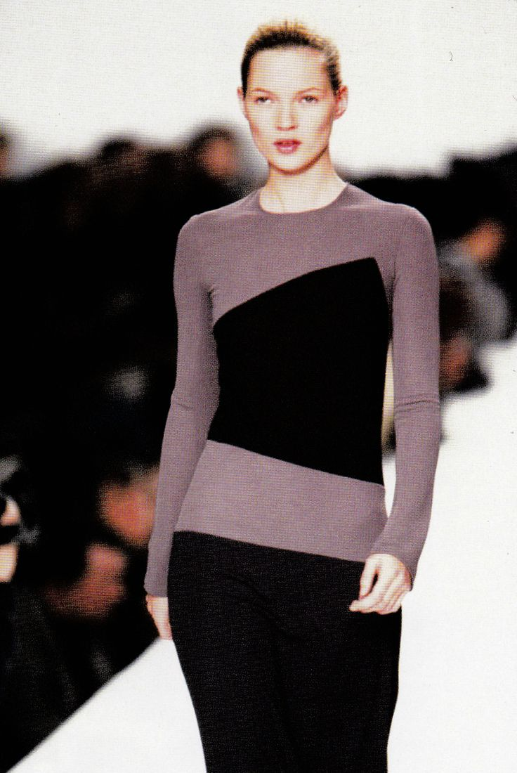 Kate Moss at Calvin Klein Fall/Winter 1996-7