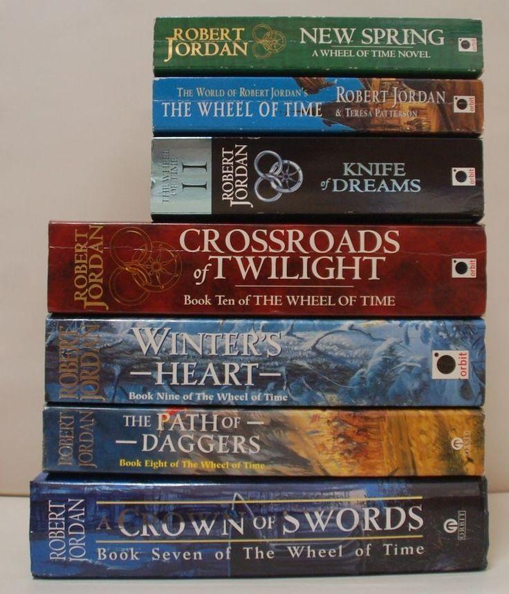 The Wheel Of Time Books 7 to 11 (2 x SIGNED!) Robert Jordan + 2 Companion Books