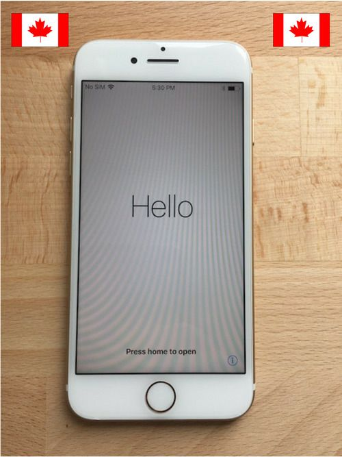 Apple iPhone 6S Gold MINT Condition 32GB Videotron Smartphones 4G LTE Cell A1688 #Apple #Smartphone