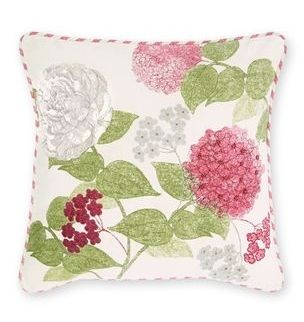 Flourish Embroidered And Beaded Cushion from Next