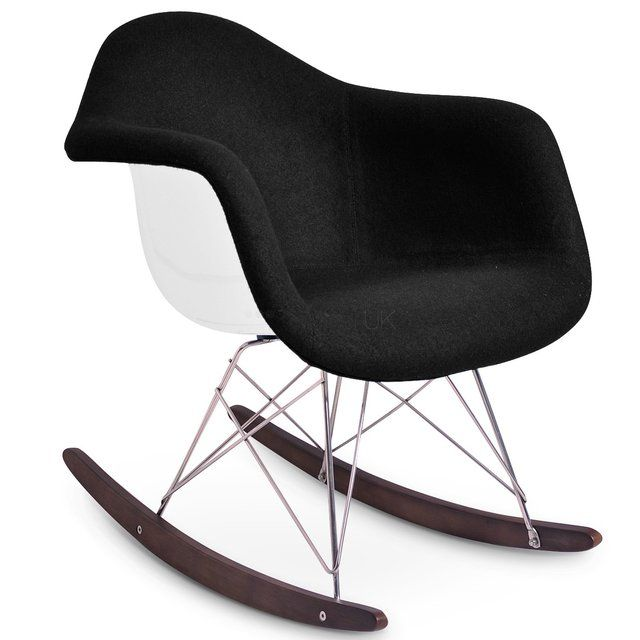 86 fancy charles eames rar rocking chair design for Eames lounge sessel nachbau