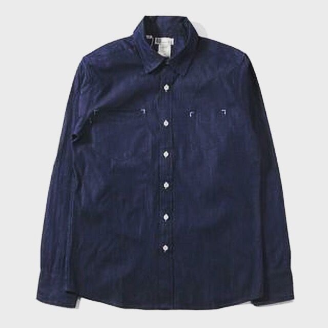 This Blue Visvim Shirt brings out another side of the street fashion --- perfect for those who want to button up and keep their style timely and flexible. This polo can be paired with anything: from simple dark colored pants, or serving as a undershirt with other dope designed sweaters. You can't go wrong with this!  #streetclothingonline #streetfashiononline #swagger #dapper #dopepolos #fusionswag