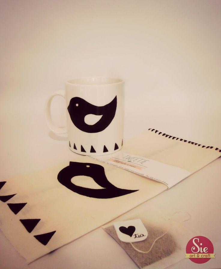 Sie - Art & Craft: Tweety cup ♥