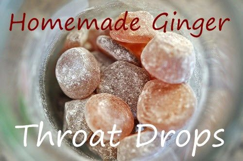 These homemade throat drops are a great way to blend ginger into a cough drop to create an effective way of a great tasting tea and powerful healing herbs.