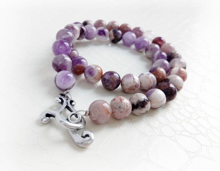 Amethyst bracelet by MercysFancy on Etsy