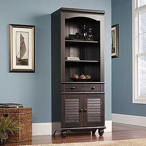 AFW Has An Amazing Selection From Sauder Woodworking Including The Harbor View Library With Doors In Stock Or Quick Ship Shop This And Other Items By