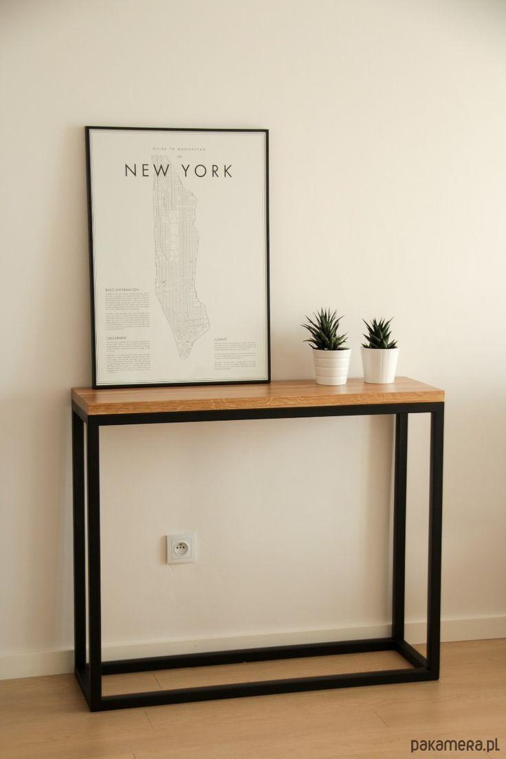 meble - stoły i stoliki-Konsolka