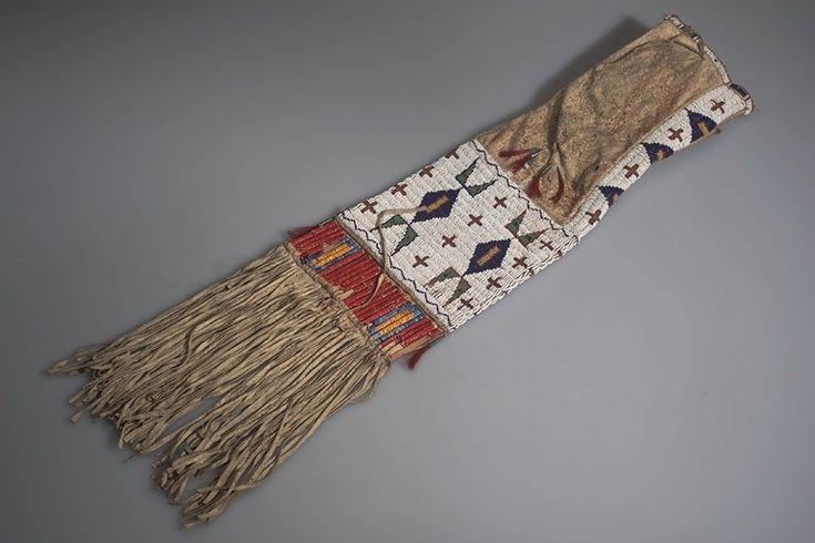 Сумка для трубки, Оглала. 1910 год.