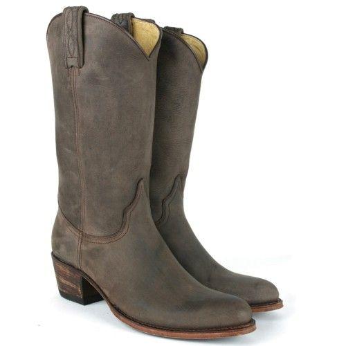 sendra cowboylaarzen bruin 65 bruin donker Direct leverbaar uit de webshop van taft.nl/