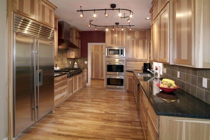 küchenlampen küchenleuchten küchenbeleuchtung einrichtungsideen küche