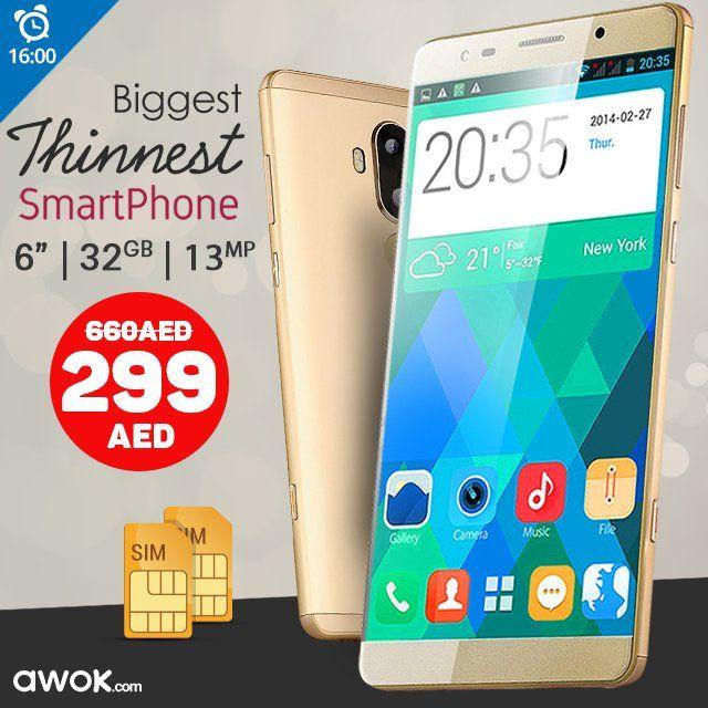 299/- Only For a Big Thin Smartphone! 299فقط لهاتف كبير رفيع ذكي! http://ift.tt/2oGdmSl #smartphone #shopping #uaesale #phones #http://mobilespic.twitter.com/Ruv3BnT7ei