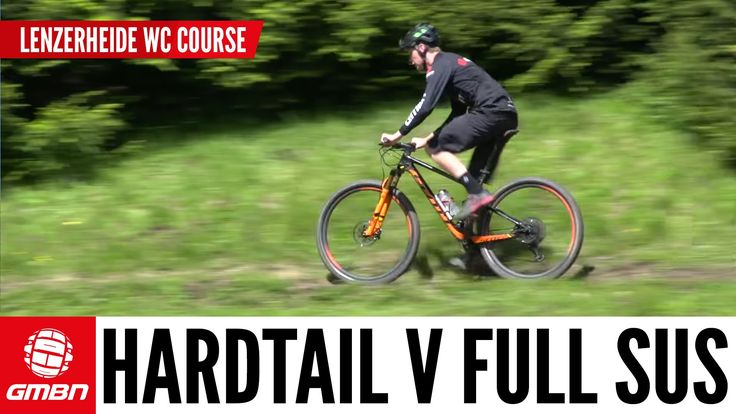 Hardtail Vs. Full Suspension Mountain Bike - What is Faster? - VIDEO - http://mountain-bike-review.net/mountain-bikes/hardtail-vs-full-suspension-mountain-bike-what-is-faster-video/ #mountainbike #mountain biking