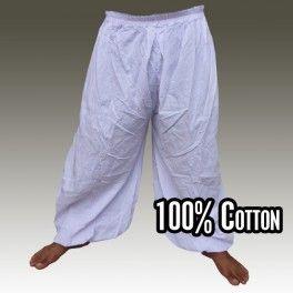 Pantalon sarouel pantalon bouffant Sii Damm - weiss